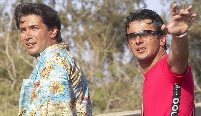 پارسا پیروزفر در فیلم سینمایی نقاب در کنار امین حیایی