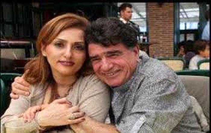 محمدرضا شجریان و همسرش