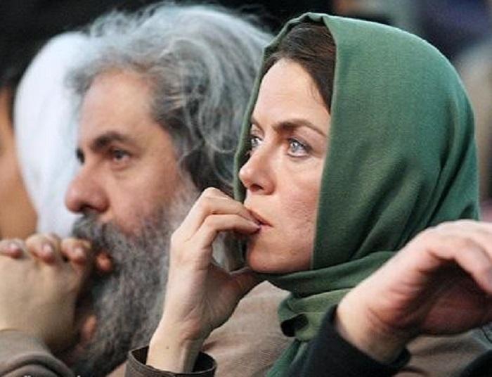 محمد رحمانیان و همسرش مهتاب نصیرپور