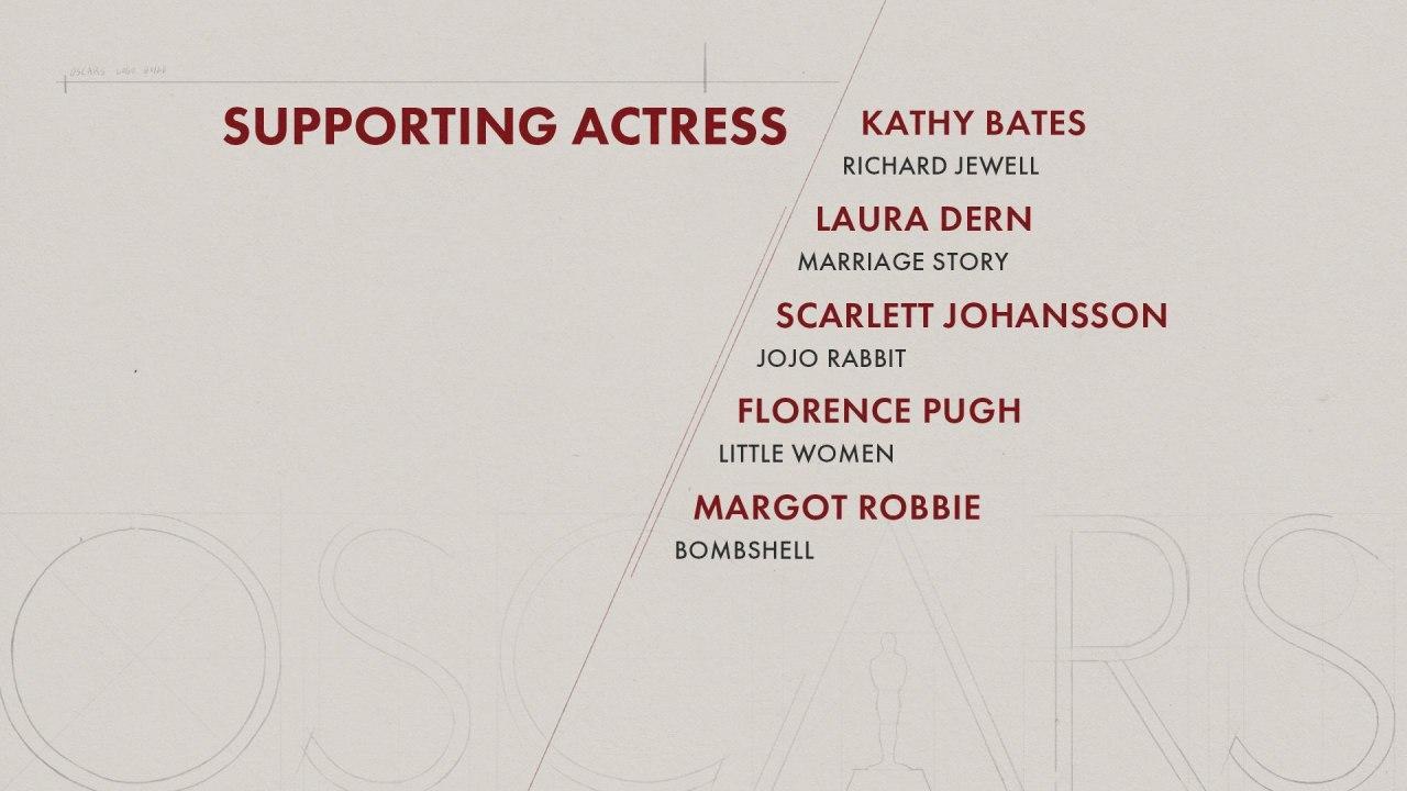بهترین بازیگر زن مکمل اسکار