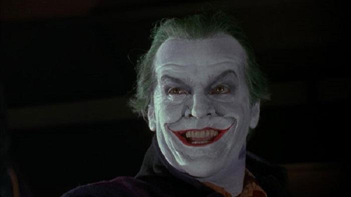 جک نیکلسون در نقش جوکر