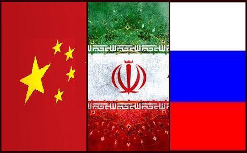 روسیه چین ایران 2