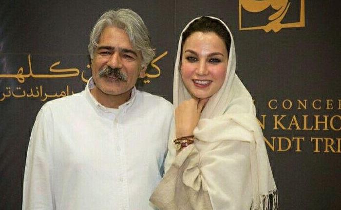 عکس کیهان کلهر و همسرش زهره سلطان آبادی