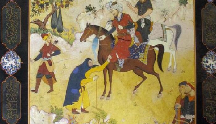 نقاشیهای علی اسفرجانی در باغ نگارستان