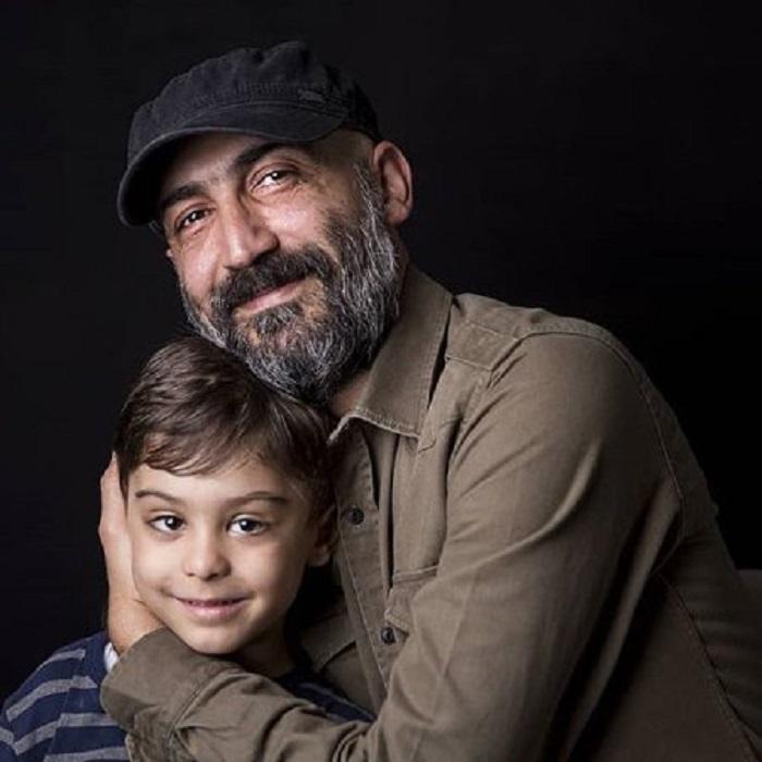 هادی حجازی فر و پسرش هامون