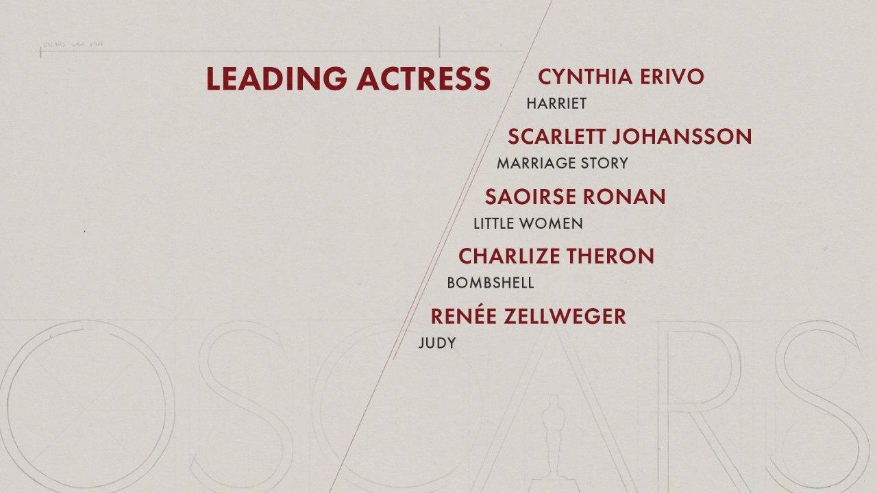 بهترین بازیگر زن اسکار 2020