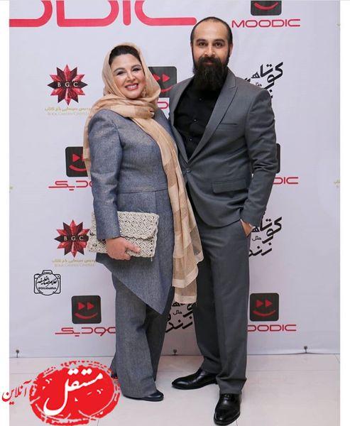 شهره سلطانی عزیز و همسرش + عکس