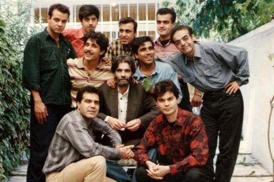عکسی قدیمی از بازیگران