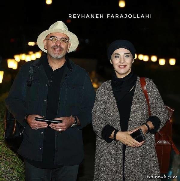 عکس رویا نونهالی و همسرش