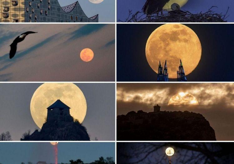 اولین «ابر ماه صورتی» در سال ۲۰۲۰
