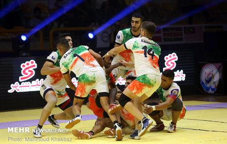 تیم کبدی جوانان ایران با اقتدار قهرمان جهان شد