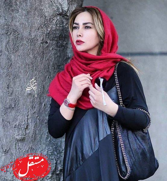 آنا نعمتی با ظاهری متفاوت + عکس