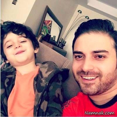 بابک جهانبخش و پسرش