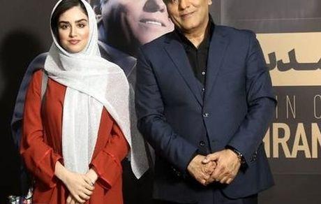عکس دیده نشده مهران مدیری در اغوش دختر جوان + عکس و بیوگرافی