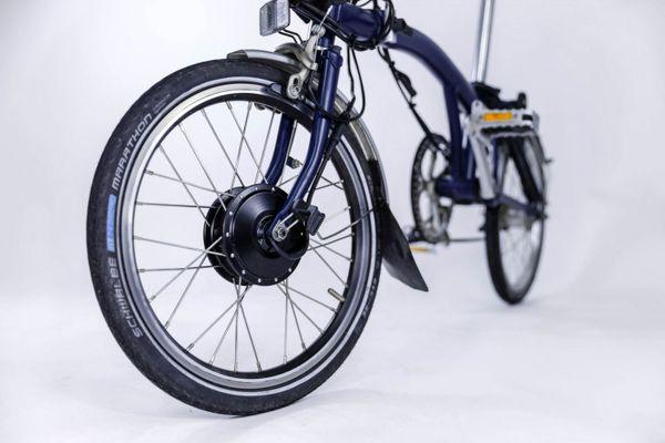 تبدیل دوچرخه معمولی به دوچرخه برقی با یک کیت جدید