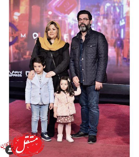 خانواده کارگردان مشهور در یک مراسم + عکس