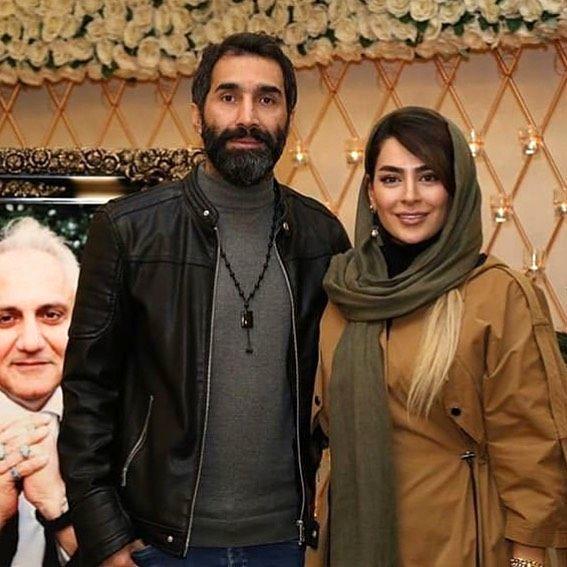 سمانه پاکدل و هادی کاظمی در مجلسی رسمی+عکس