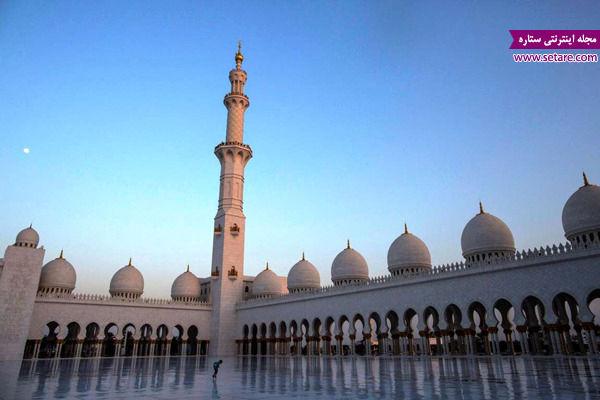 مسجد بزرگ شیخ زاید، ابوظبی، فرش 45 تنی مسجد شیخ زاید