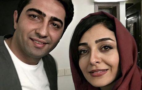 ساره بیات در کنار داماد بدشانس + عکس