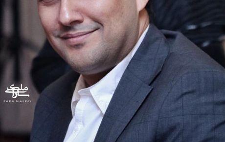 حامد بهداد با کت وشلوار رسمی در یک مراسم + عکس