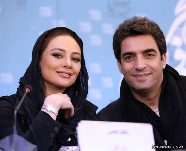 یکتا ناصر و همسرش