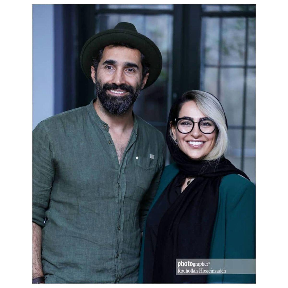 نمایشگاه عکس هادی کاظمی و تغییر چهره سمانه پاکدل بازیگر مشهور+تصاویر