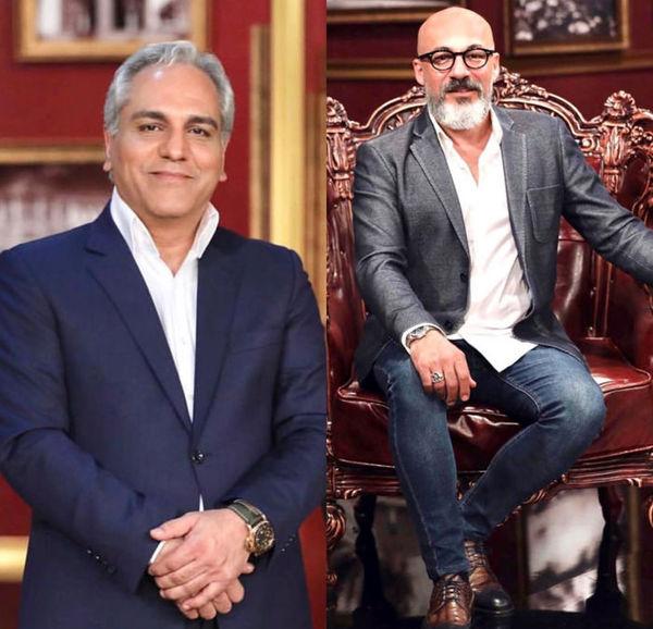 سورپرایز عجیب مهران مدیری برای امیر آقایی+فیلم و عکس
