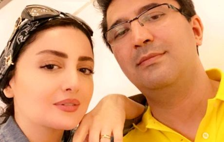 عکسهای عاشقانه شیلا خداداد در آغوش همسرش + عکس و بیوگرافی