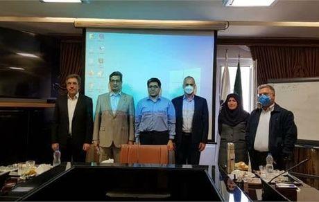 تقدیر از محمدرضا سعیدی در جلسه هیئت مدیره پتروشیمی جم