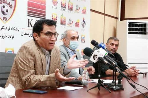 نشست خبری مدیرعامل باشگاه فولاد خوزستان با اصحاب رسانه برگزار شد