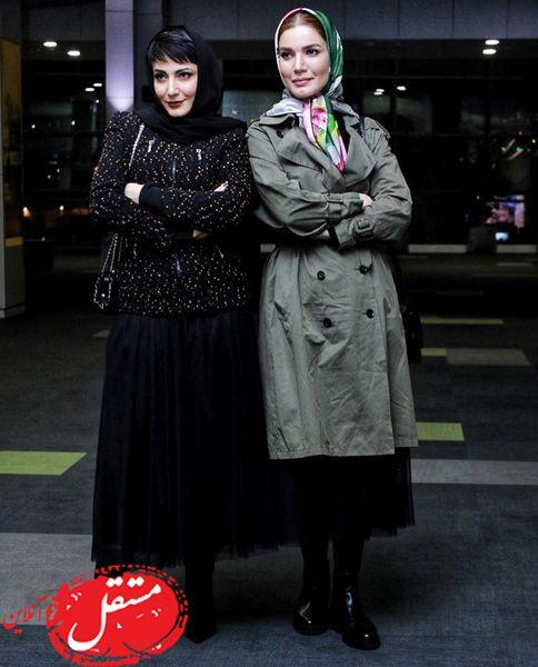سمیرا حسن پور و متین ستوده در کنار هم + عکس