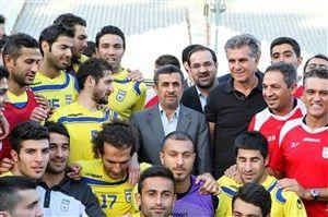 درخواست عجیب یک ملیپوش از احمدینژاد+عکس