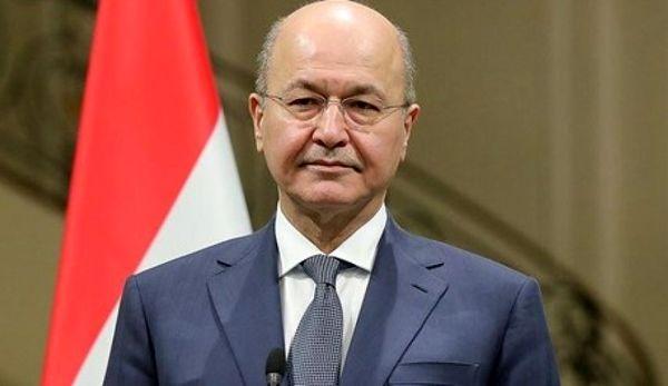 برهم صالح: گفتگوهای ایران و عربستان پیشرفت خوبی داشته است