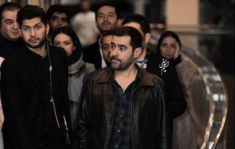 شهاب حسینی و بادیگاردهایش در میان مردم + عکس