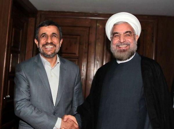 نامه احمدی نژاد به روحانی/از وقوع جنگ جلوگیری کن