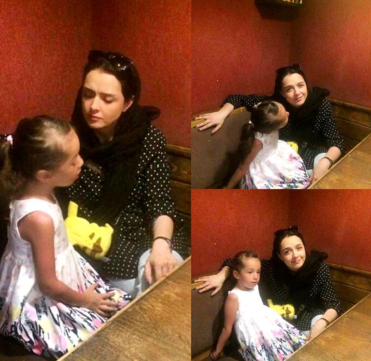 ترانه علیدوستی و دخترش حنا+ عکس | طرفداری