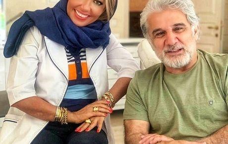 مهدی هاشمی و خانم دندانپزشک جوانش + عکس
