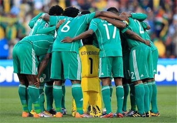 اشتباه عجیب فدراسیون فوتبال نیجریه + عکس