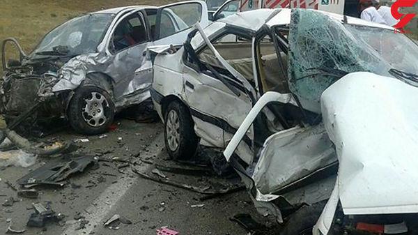 تصادف زنجیره ای در اراک سناریوی مرگباری را رقم زد + جزئیات