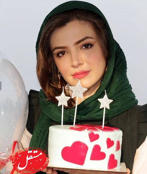 تولد نوبر خانم سریال وارش + عکس