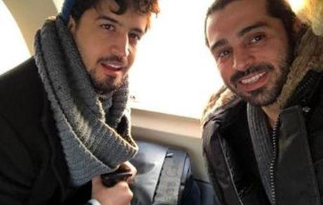 مهرداد صدیقیان و دوستش + عکس