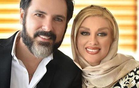 کوروش تهامی در کنار همسرش + عکس