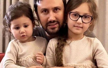 شاهرخ استخری و دو دخترش + عکس