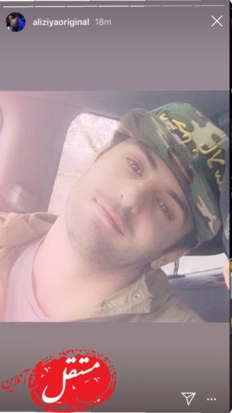 کلاه خاص آقای مجری مشهور + عکس