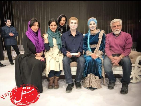 حسین پاکدل در نمایش مشترک همسر و برادرش + عکس