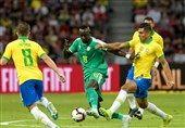 نوقف تیم ملی فوتبال برزیل در دیداری دوستانه مقابل سنگال
