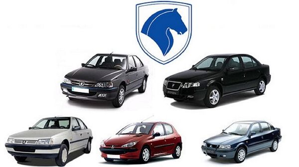 قیمت خودروهای ایران خودرو + جدول