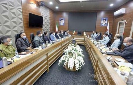 مدیرعامل شرکت فولاد خوزستان با شهردار اهواز دیدار کرد