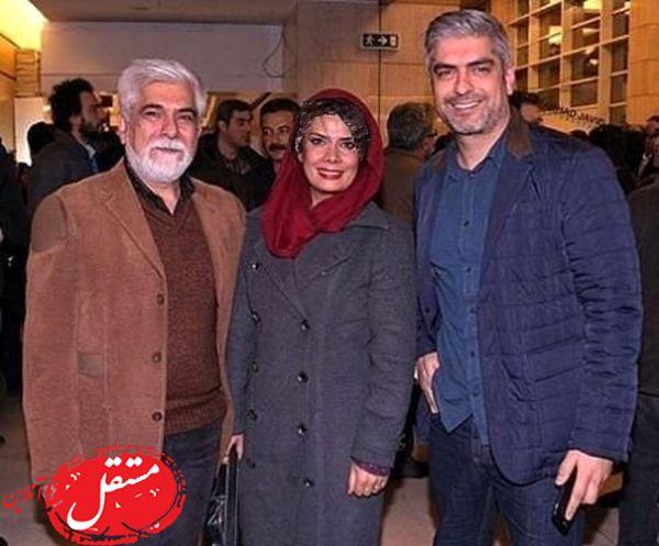 خانم بازیگر در کنار شوهر و برادر شوهر خوشتیپش + عکس