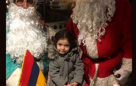 بابانوئل های دختر آزاده نامداری + عکس